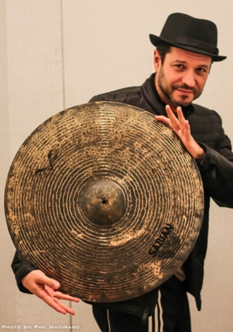 Custom Jazz ride from Sabian. Designed by Phil Maturano
