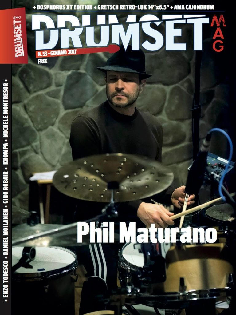 Phil Maturano Drumsetmag