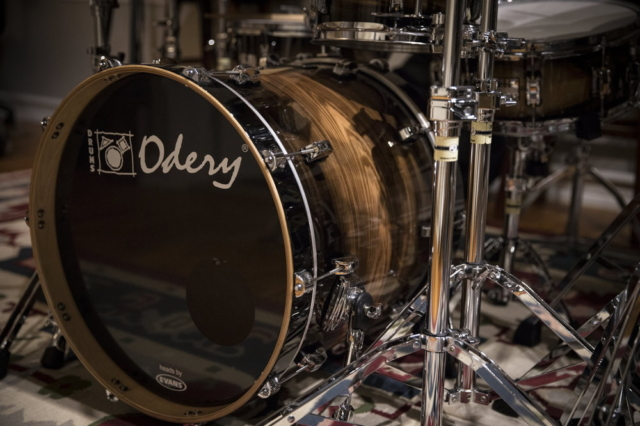 "20"" bass Drum from Odery Eyedentity series / Phil Maturano Set"