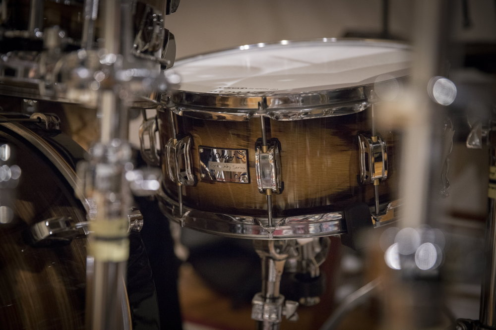 "14"" Snare by Odery - Eyedentity series/ Phil Maturano kit"
