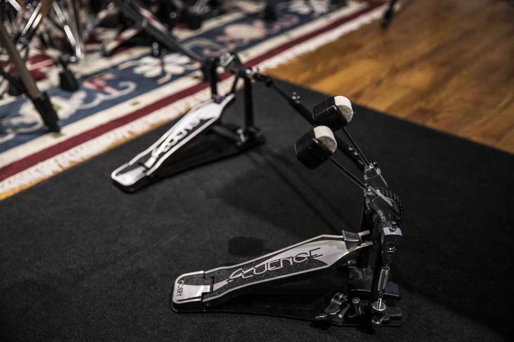 Double pedal by Odery - Fluence series / Phil Maturano kit