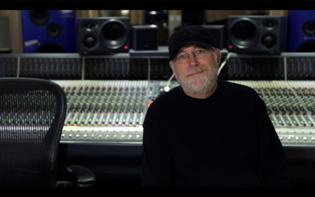 Bill O'Connell in studio recording for Phil Maturano - New York Sessions