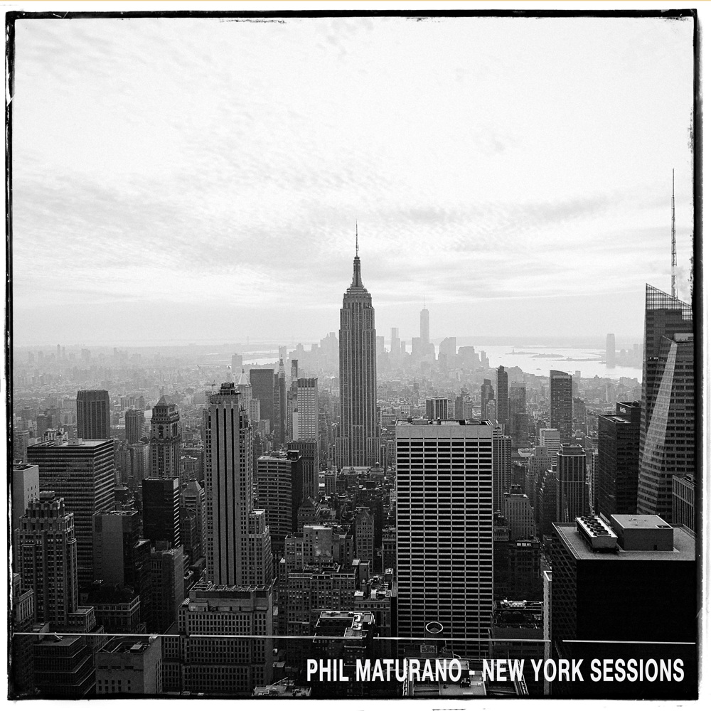 Cd Cover Phil Maturano - New York Sessions