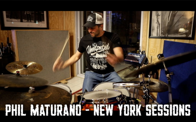 Phil Performing on tune African Drummer - Phil Maturano - New York Sessions